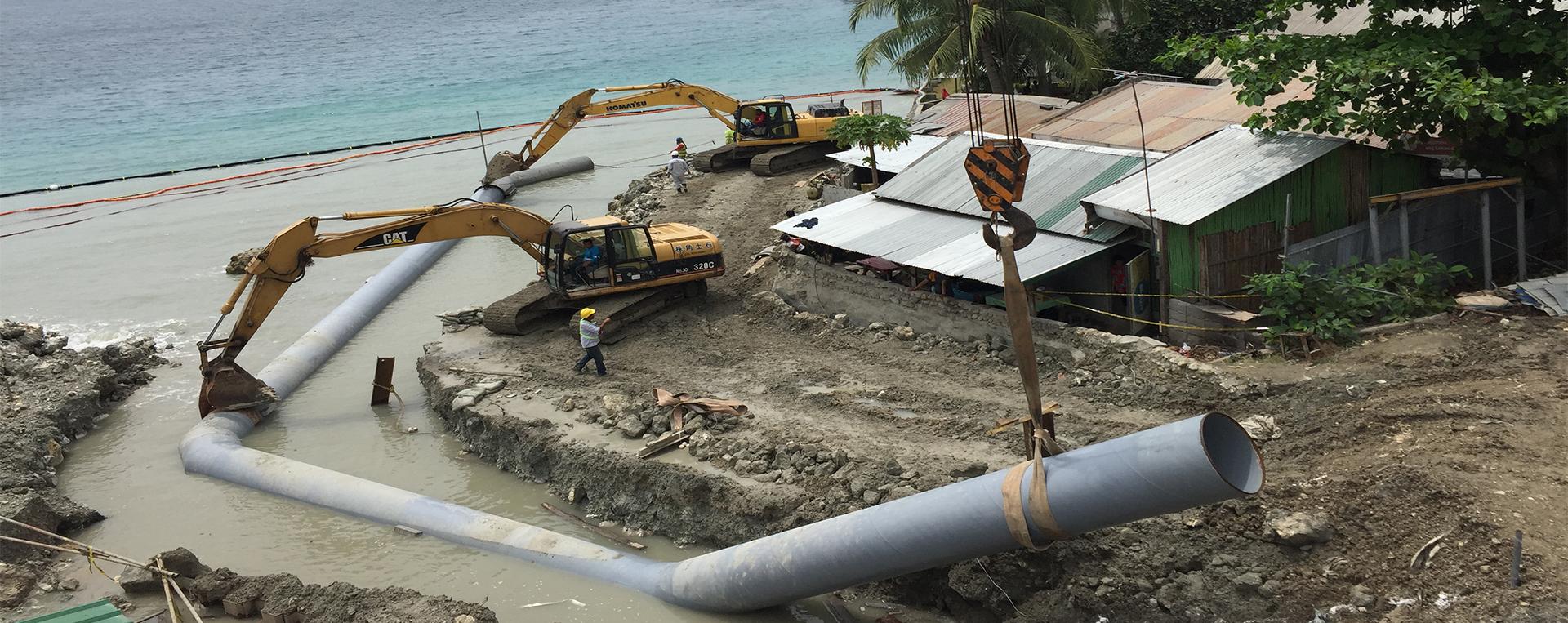海上平台及附属结构建造、安装、维修