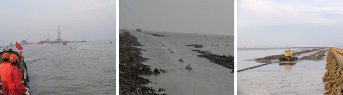 中石油大港油田埕海4X1海底管线铺设项目(2007年)