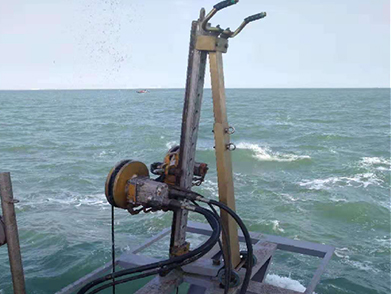海底油气管线冷切割