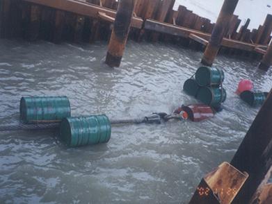 中海油东方1-1油田海底管线登陆安装项目(2002年)