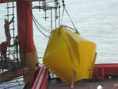 JZ9-3油田平台抗冰锥设计、制作、安装项目(2009年--中海油)