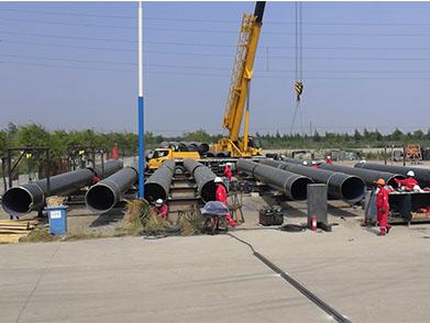 河北曹妃甸化工区排海管线铺设项目(2020年--永泰实业)