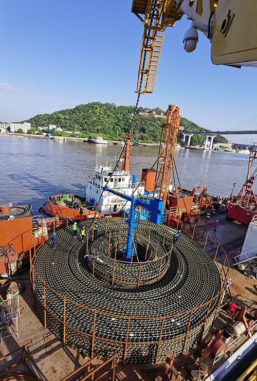 祝贺国华竹根沙H1#海上风电场项目正式开工!