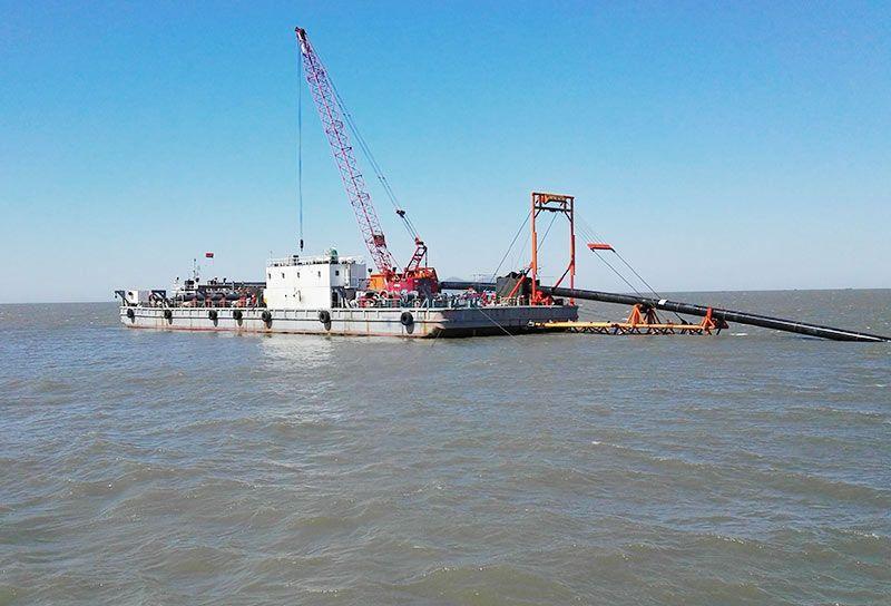 天易601(S型)铺管船