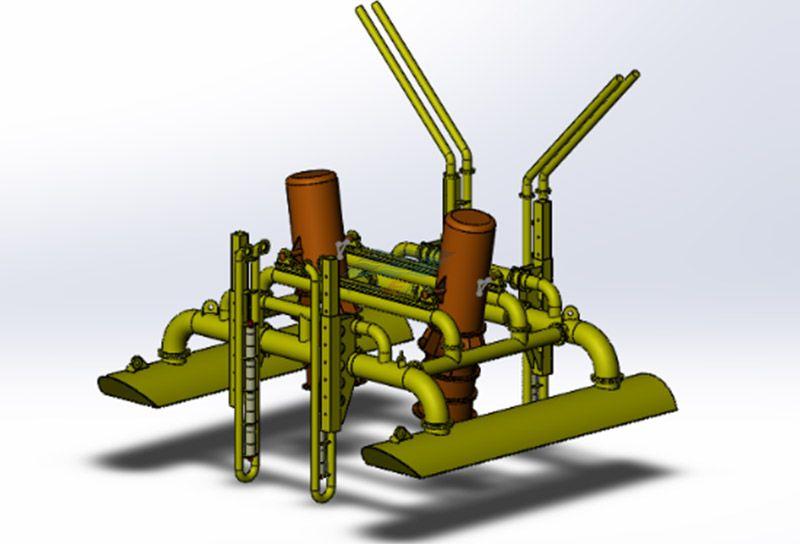 SE-18000潜水挖沟机