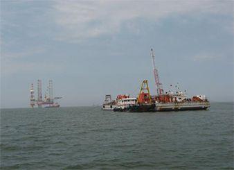 中海油锦州9-3油田海底管线铺设项目(2009年)