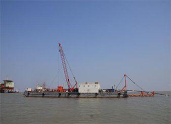 洛克石油赵东油田海底管线铺设项目(2010年)
