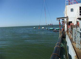 中信能源天时集团月东油田海底管线铺设项目(2011~2012年)