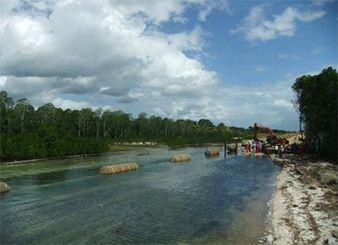 坦桑尼亚Mnazi Bay海管项目浅水段海底管线铺设项目(2014年--中石油)