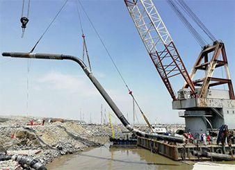 浙石化马目鱼山海底管道安装项目--鱼山侧立管安装项目(2018年--中海油)