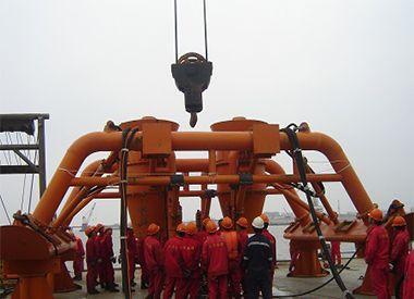 海底管线预、后挖沟