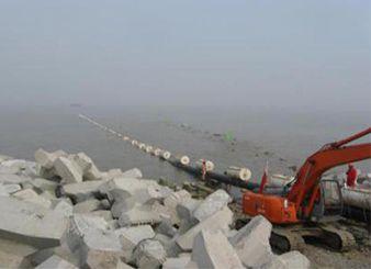 中石油冀东油田南堡1~2号人工岛海底管线铺设项目(2008年)