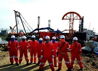 葫芦岛海底光缆铺设项目(2017年--天津宏利海洋工程有限公司)
