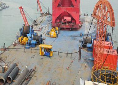 中石化泉州石化码头项目海缆铺设项目(2014年)
