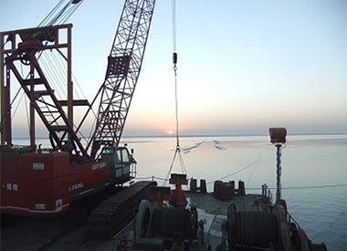 月东油田海底管线安装项目(2011-2012年--天时集团)