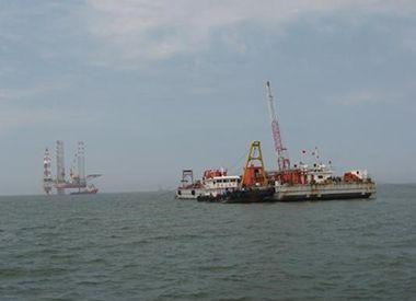 锦州9-3油田海底管后挖沟项目 (2009年--中海油)