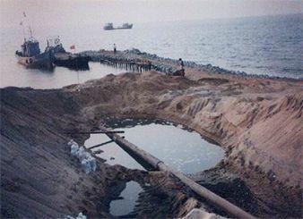 中海油渤南海底管线登陆安装项目(2005年)