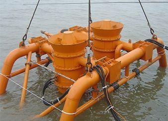 冀东油田1-3号岛海底管道后挖沟项目(2009年--中石油)