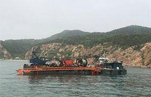 大连南码头海缆铺设项目顺利完工