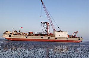 祝贺我司国华竹根沙H1#海上风电场海底电缆铺设项目正式开工