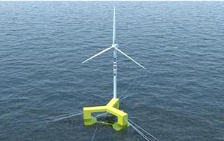 可抗17级台风!全球首台抗台风型漂浮式海上风电机组下线